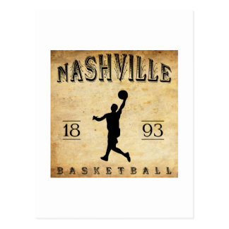 1893 Nashville Tennessee Basketball Post Cards