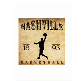 1893 Nashville Tennessee Basketball Postcard