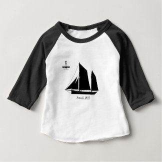 1893 sailing smack - tony fernandes baby T-Shirt