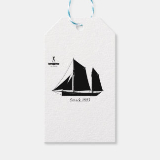 1893 sailing smack - tony fernandes gift tags