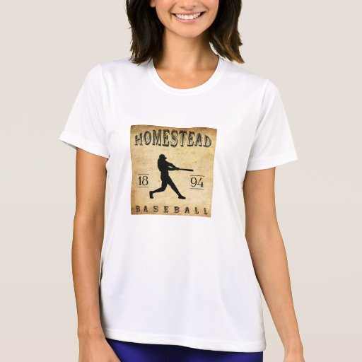 1894 Homestead Pennsylvania Baseball T Shirts