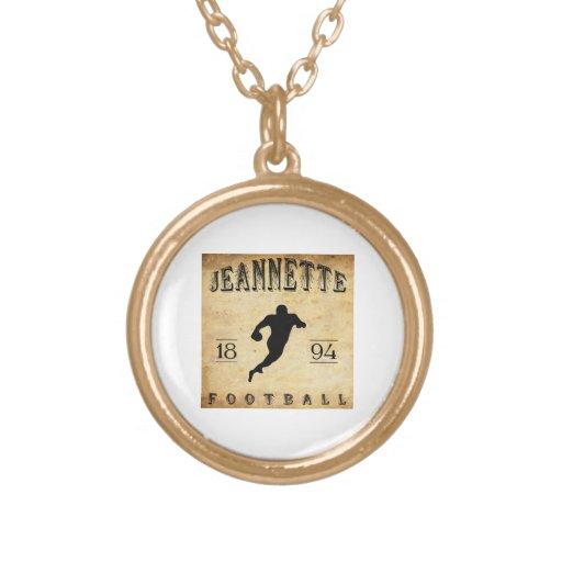 1894 Jeannette Pennsylvania Football Custom Jewelry