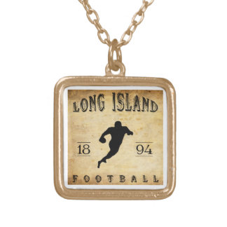 1894 Long Island New York Football Personalized Necklace