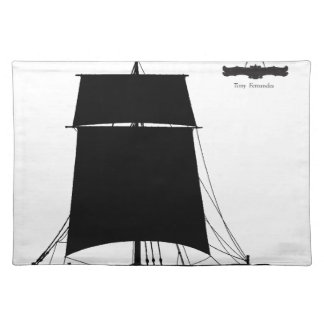 1895 Humber Keel - tony fernandes Placemat