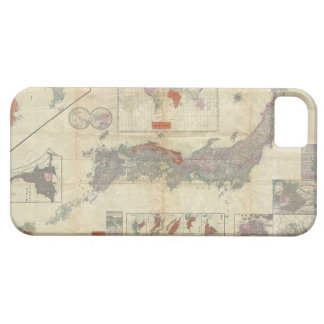1895 Meiji 28 Japanese Map of Imperial Japan iPhone 5 Cover