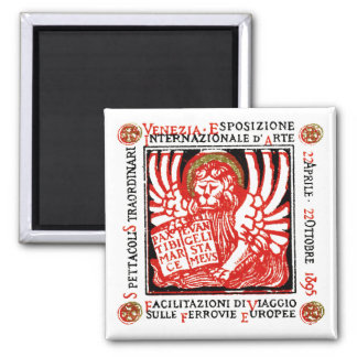 1895 Venice Art Poster Refrigerator Magnets