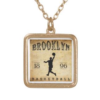 1896 Brooklyn New York Basketball Pendants