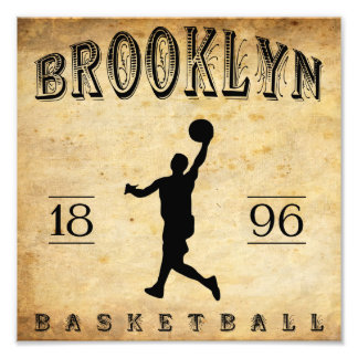 1896 Brooklyn New York Basketball Photo Print
