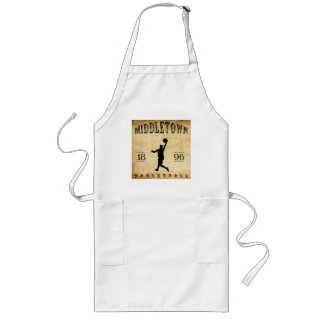 1896 Middletown Connecticut Basketball Long Apron