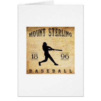 1896 Mount Sterling Kentucky Baseball Cards