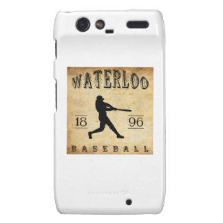 1896 Waterloo Wisconsin Baseball Droid RAZR Cover