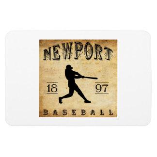 1897 Newport Rhode Island Baseball Flexible Magnets