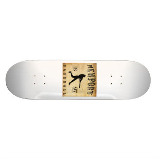 1897 Newport Rhode Island Baseball Skateboard Deck