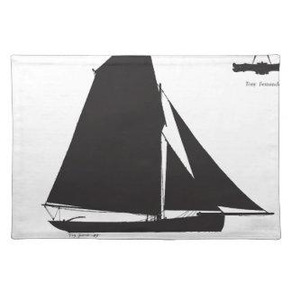 1897 Prawner - tony fernandes Placemat