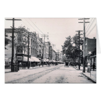 1897 South Main St. Wilkes Barre Pa. Greeting Card