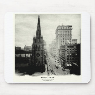 1898 Broadway New York City Mouse Pad