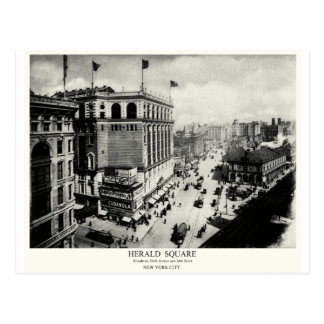 1898 Herald Square New York City Post Cards