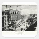 1898 Herald Square New York City Square Sticker
