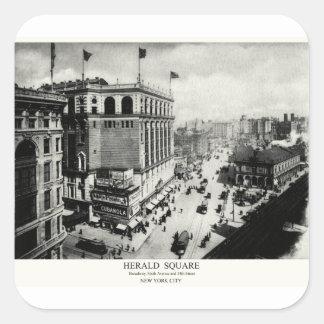 1898 Herald Square New York City Stickers