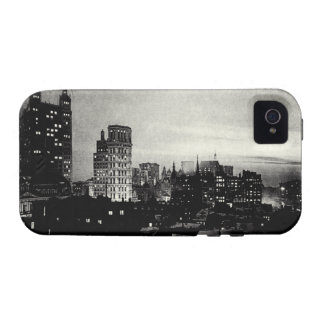 1898 Lower Manhattan at dusk Case-Mate iPhone 4 Cover