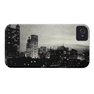 1898 Lower Manhattan at dusk iPhone 4 Cover