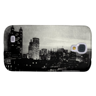 1898 Lower Manhattan at dusk Galaxy S4 Covers