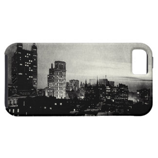 1898 Lower Manhattan at dusk iPhone 5 Cover