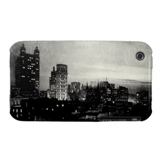 1898 Lower Manhattan at dusk iPhone 3 Covers