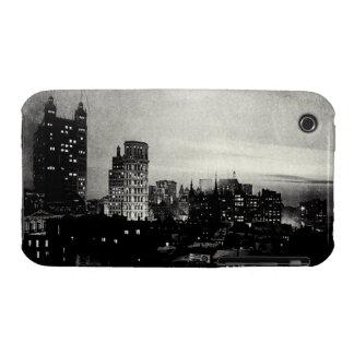 1898 Lower Manhattan at dusk iPhone 3 Case