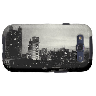 1898 Lower Manhattan at dusk Galaxy S3 Cover