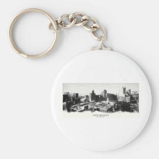 1898 New York Panorama Keychain