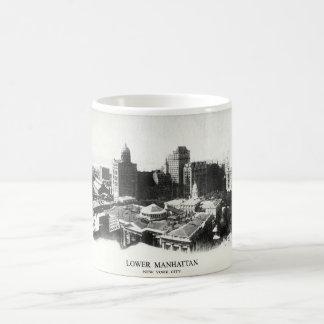 1898 New York Panorama Classic White Coffee Mug