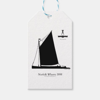 1898 Norfolk Wherry - tony fernandes Gift Tags