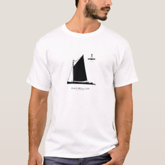 1898 Norfolk Wherry - tony fernandes T-Shirt