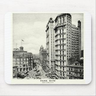 1898 Park Row, New York City Mousepads