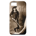 1898 Photo of Miss Annie Oakley Holding a Rifle iPhone 5 Cases