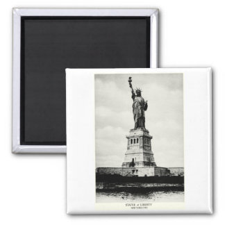 1898 Statue of Liberty Refrigerator Magnet