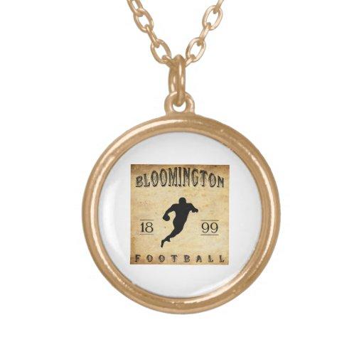1899 Bloomington Indiana Football Pendants