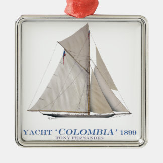 1899 Colombia Christmas Ornament