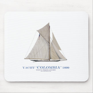 1899 Colombia Mouse Mat