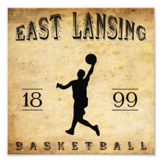 1899 East Lansing Michigan Basketball Photo