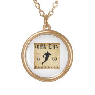 1899 Iowa City Iowa Football Necklaces