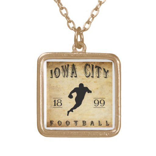 1899 Iowa City Iowa Football Custom Jewelry