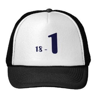 18 -  1 TRUCKER HAT