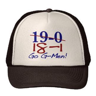 18-1 Go G-Men Mesh Hats