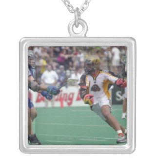 18 Aug 2001:  Hugh Donovan #43  Baltimore Silver Plated Necklace
