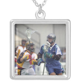 18 Aug 2001:  Shawn Nadelen #15  Baltimore Silver Plated Necklace