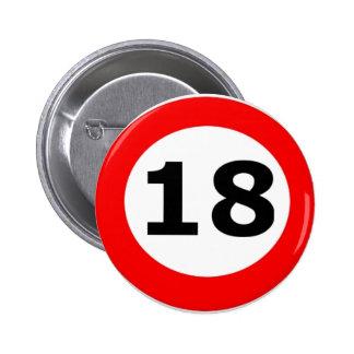 '18' Comedy Badge