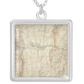 18 Meriden sheet Silver Plated Necklace