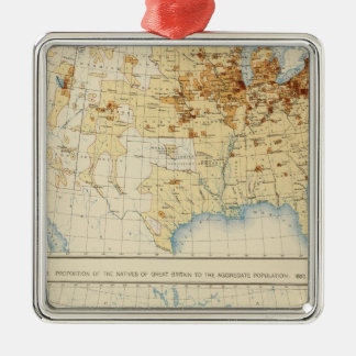 18 Natives of Great Britain 1890 Christmas Tree Ornament